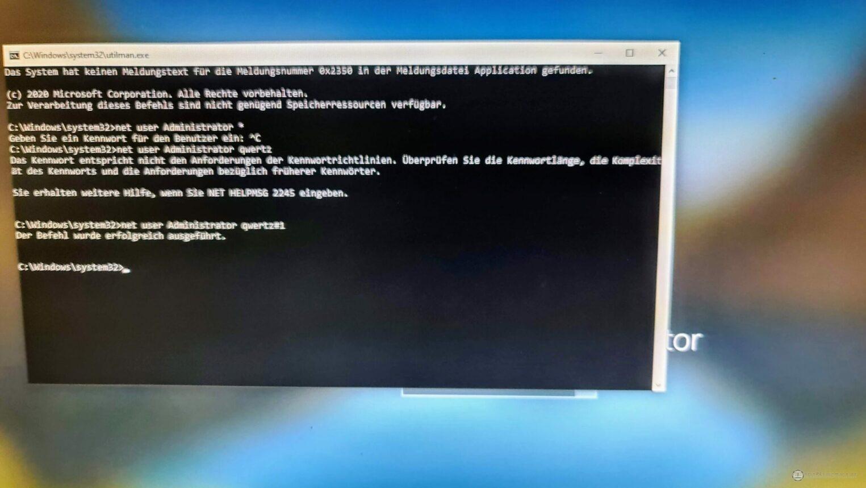 Angepasster Windows-Logon